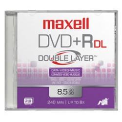 Maxell - DVD+R DL 10 Pack 8,5 GB 10 pieza(s)