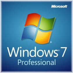 Microsoft - Windows 7 Professional, SP1, x32/x64, OEM, DSP, DVD, ENG