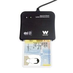 Woxter - PE26-003 Interior USB 2.0 Negro lector de tarjeta inteligente