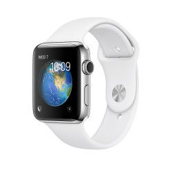 Apple - Watch Series 2 OLED GPS (satélite) Acero inoxidable reloj inteligente