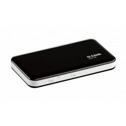 D-Link - DWR-730 USB Wifi Negro, Color blanco equipo de red 3G UMTS