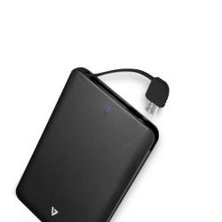 V7 - CPB2500P-4E Polímero de litio 2500mAh Negro batería externa