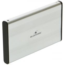"""Bluestork - EHD-25/SU/F 2.5"""" Aluminio, Negro"""