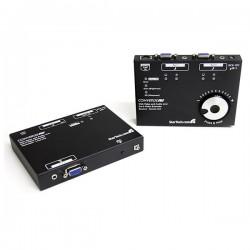 StarTech.com - Kit Juego Extensor de Vídeo VGA Audio por Cable Cat5 UTP Ethernet de Red - 300m
