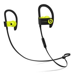 Beats by Dr. Dre - Powerbeats3 auriculares para móvil Binaural gancho de oreja, Dentro de oído Negro, Amarillo Inal