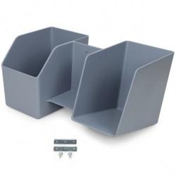Ergotron - 97-926-064 Gris De plástico Canasta accesorio de carrito para portátil y ordenador