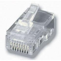 Equip - 121151 conector RJ-45 (8P8C) Transparente