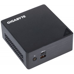 Gigabyte - GB-BKi3HA-7100 (rev. 1.0) i3-7100U 2,40 GHz 0,6 l tamaño PC Negro BGA 1356