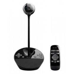 Logitech - BCC950 ConferenceCam 1920 x 1080Pixeles USB 2.0 Negro cámara web