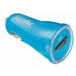 Celly - CCUSBLB Auto Azul cargador de dispositivo móvil