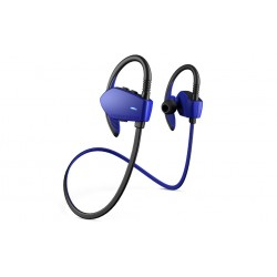 Energy Sistem - Energy Earphones Sport 1 Bluetooth Auriculares gancho de oreja Negro, Azul