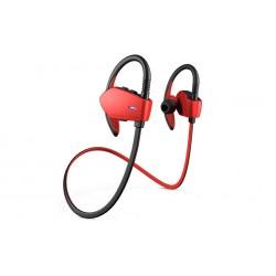 Energy Sistem - Energy Earphones Sport 1 Bluetooth Auriculares gancho de oreja Negro, Rojo