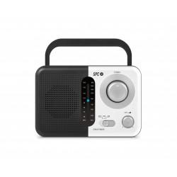SPC - Chilly Radio Negro/Blanco 4574B