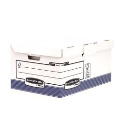 Fellowes - 1141501 Papel Azul caja y organizador para almacenaje de archivos