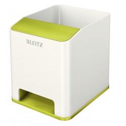 Leitz - WOW Poliestireno Verde, Metálico porta lápices