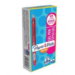 Papermate - InkJoy Gel Retractable gel pen Rojo 12pieza(s)