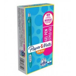 Papermate - InkJoy Gel Retractable gel pen Turquesa 12pieza(s)