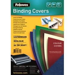 Fellowes - Delta A4 Papel Azul 100pieza(s) cubierta