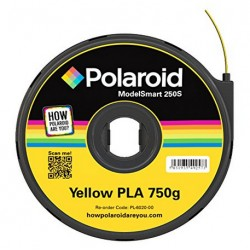 Polaroid - PL-6020-00 Ácido poliláctico (PLA) Amarillo 750g material de impresión 3d