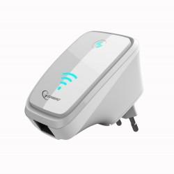 Gembird - WNP-RP-002-W 300Mbit/s Blanco repetidor y transceptor