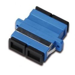 Digitus - DN-96003-1 SC/SC 20pieza(s) Negro, Azul adaptador de fibra óptica
