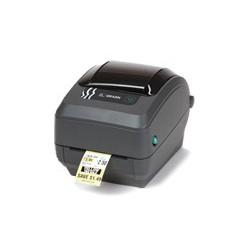 Zebra - GK420t Térmica directa / transferencia térmica 203 x 203DPI Gris impresora de etiquetas