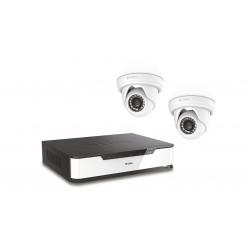 D-Link - DNR16-4802-2 Inalámbrico y alámbrico 16channels kit de videovigilancia