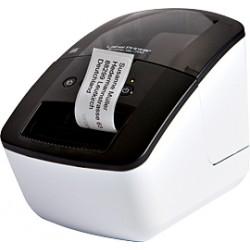 Brother - QL-700 Térmica directa 300 x 300DPI Negro, Color blanco impresora de etiquetas