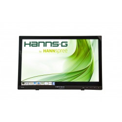 "Hannspree - HT HT161HNB monitor pantalla táctil 39,6 cm (15.6"") 1366 x 768 Pixeles Negro Multi-touch Mesa"