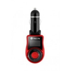 NGS - Spark V2 87.5 - 108MHz Alámbrico Negro, Rojo transmisor FM