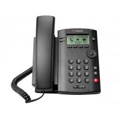 Polycom - VVX 101 teléfono IP Negro Terminal con conexión por cable LCD 1 líneas