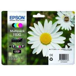 Epson - Daisy Multipack 18XL 4 colores (etiqueta RF)