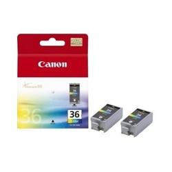 Canon - CLI-36 Negro, Cian, Magenta, Amarillo cartucho de tinta