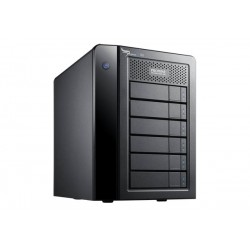 Promise Technology - Pegasus2 R6 24000GB Escritorio Negro unidad de disco multiple