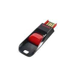 Sandisk - Cruzer Edge, 32GB 32GB USB 2.0 Capacity Negro, Rojo unidad flash USB