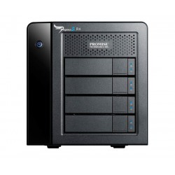 Promise Technology - Pegasus2 R4 12000GB Escritorio Negro unidad de disco multiple