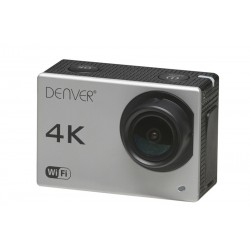 Denver Electronics - ACK-8060W 8MP 4K Ultra HD CMOS Wifi cámara para deporte de acción