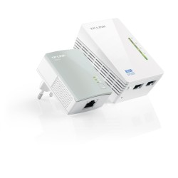 TP-LINK - TL-WPA4220KIT 300Mbit/s Ethernet Wifi adaptador de red powerline