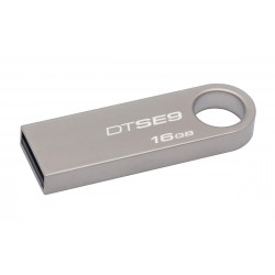 Kingston Technology - DataTraveler SE9 16GB 16GB USB 2.0 Tipo A Plata unidad flash USB