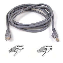 Belkin - 2m Cat.6 cable de red Cat6 U/UTP (UTP) Gris