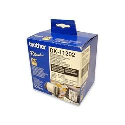 Brother - Etiquetas precortadas para envíos (papel térmico) cinta para impresora de etiquetas