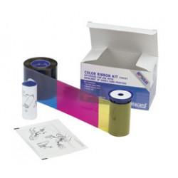 DataCard - 534000-002 cinta térmica Negro, Cian, Magenta, Amarillo