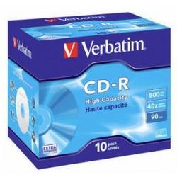 Verbatim - 43428 CD en blanco CD-R 800 MB 10 pieza(s)