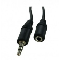 Neklan - 2061656 2m 3.5mm 3.5mm Negro cable de audio