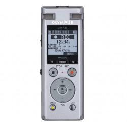 Olympus - DM-720 Memoria interna y tarjeta de memoria Plata dictáfono
