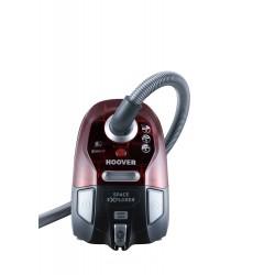 Hoover - SL71_SL60011 Aspiradora cilíndrica 2L 700W A Gris, Rojo
