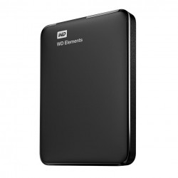 Western Digital - WD Elements Portable disco duro externo 1000 GB Negro - WDBUZG0010BBK-WESN