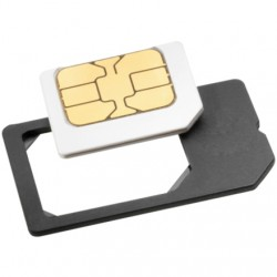 ISY - ISA 1000 SIM card adapter adaptador para tarjeta de memoria sim / flash