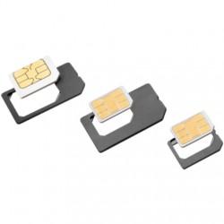 ISY - ISA 1200 SIM card adapter adaptador para tarjeta de memoria sim / flash