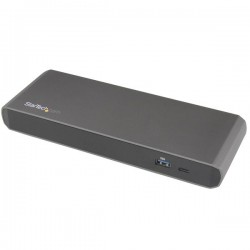 StarTech.com - Docking Station Thunderbolt 3 con Salidas Dobles de Vídeo 4K para Ordenadores Portátiles - Compatibl